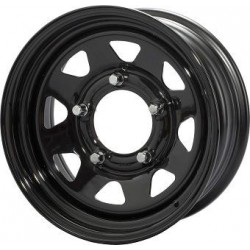 JANTE TRIANGULAR II 7 X 17 6x139.7 ET20 CB93.1 / BLACK FORD RANGER