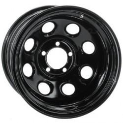 Soft 8 noir mat - 9x17 - 5x127 - Dep 6