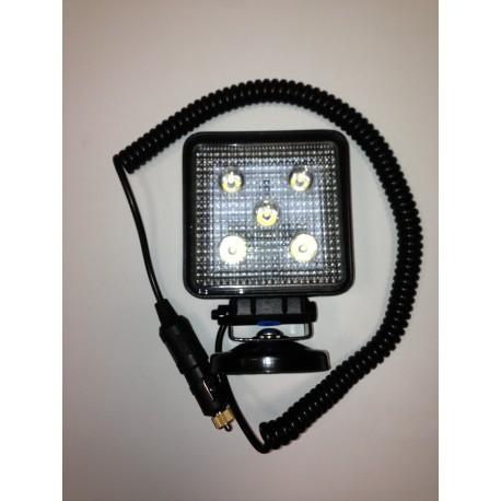 Phare de travail 5 LED magnétique