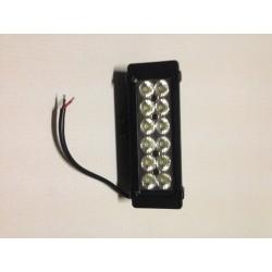 Barre 12 LEDs faisceau large